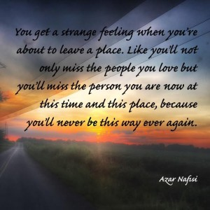 Leave a Place